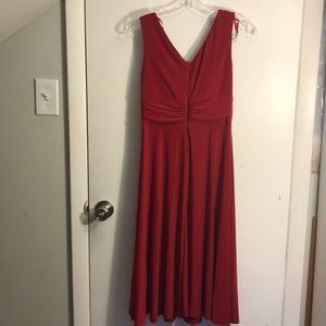 Red Jessica Howard dress